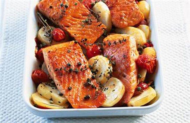 夏季正對味!消暑的地中海美食 鮭魚料理