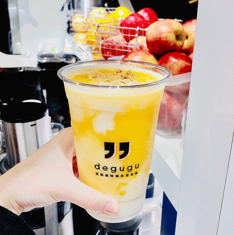 誠品信義店 B2F 果果迪 | 芒果奶昔鮮奶脆 | 售價 125 元