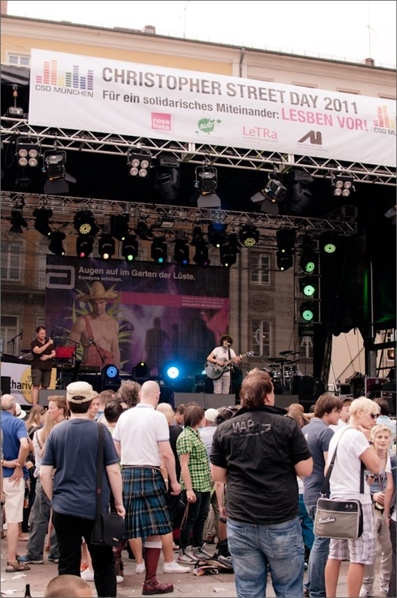 德國 慕尼黑 同志大遊行 German Munich Christofer street day 2011