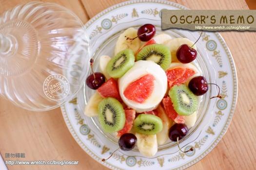 吃出你的蘋果肌 豆漿奶酪水果總匯 奧斯卡