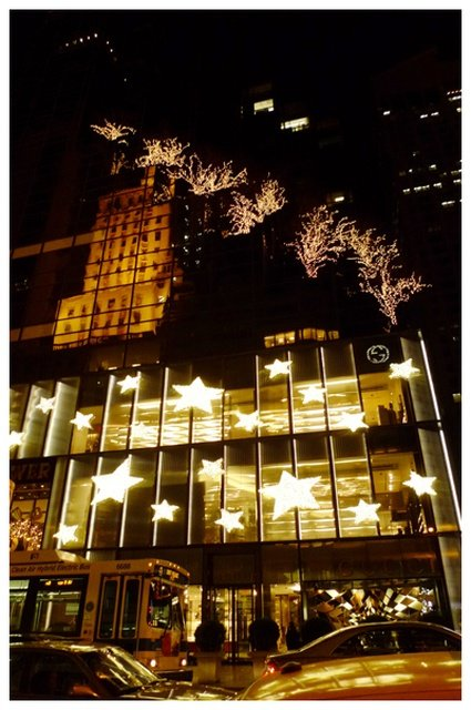 直擊紐約第五大道聖誕櫥窗秀 (名牌篇)