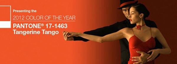 PANTONE公布2012年度代表色:Tangerine Tango