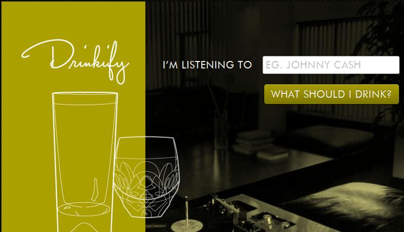 聽見什麼喝什麼 drinkify.org 健康樂活
