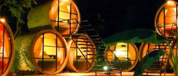 墨西哥的大管旅店 (Tube Hotel)