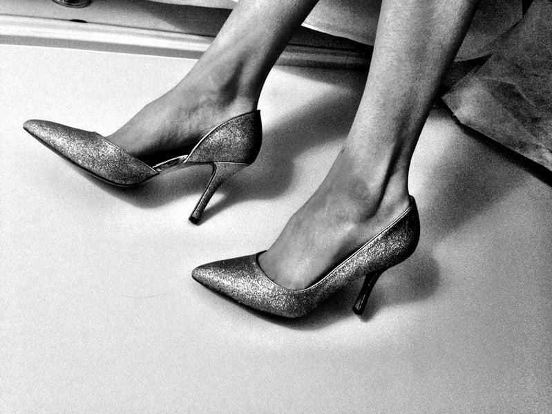 高跟鞋,不穿還是穿?