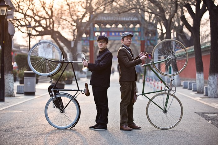 tweed run street style beijing