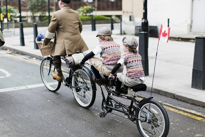 tweed run street style london