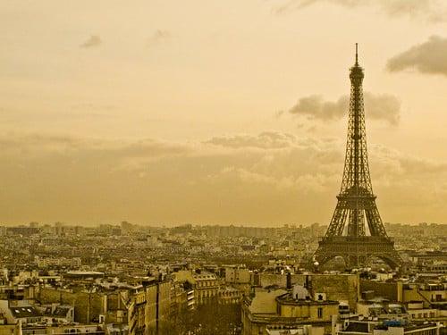 Paris from the Arc du Triomphe