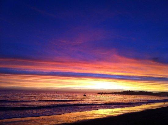 Awesome sunset from the beach - 聖塔巴巴拉Four Seasons Resort The Biltmore Santa Barbara的圖片