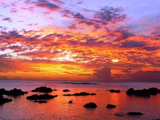 Sunset - 彭特歐皮蒙The Oberoi, Mauritius的圖片