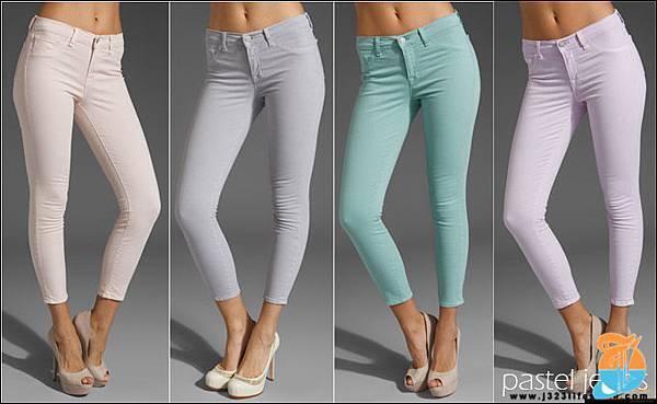 j brand pastel jeans spring summer 2012