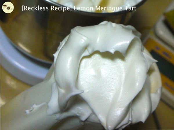 [Reckless Recipe] Lemon Meringue