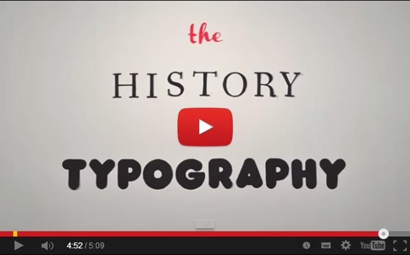 the historey of typography_video