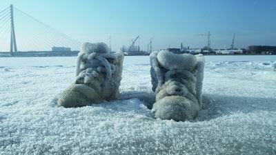 Frozen North America