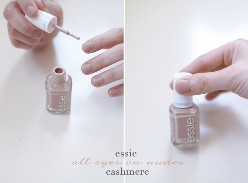 Essie Nude Nail Polishes Review all eyes on nudes