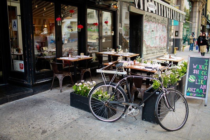 new york street scape