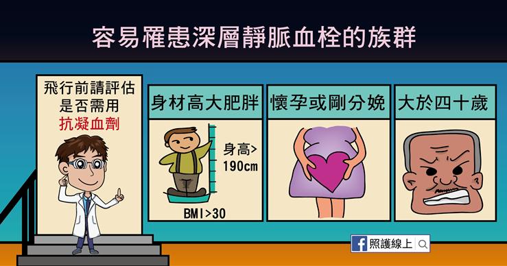 深層靜脈血栓的好發族群