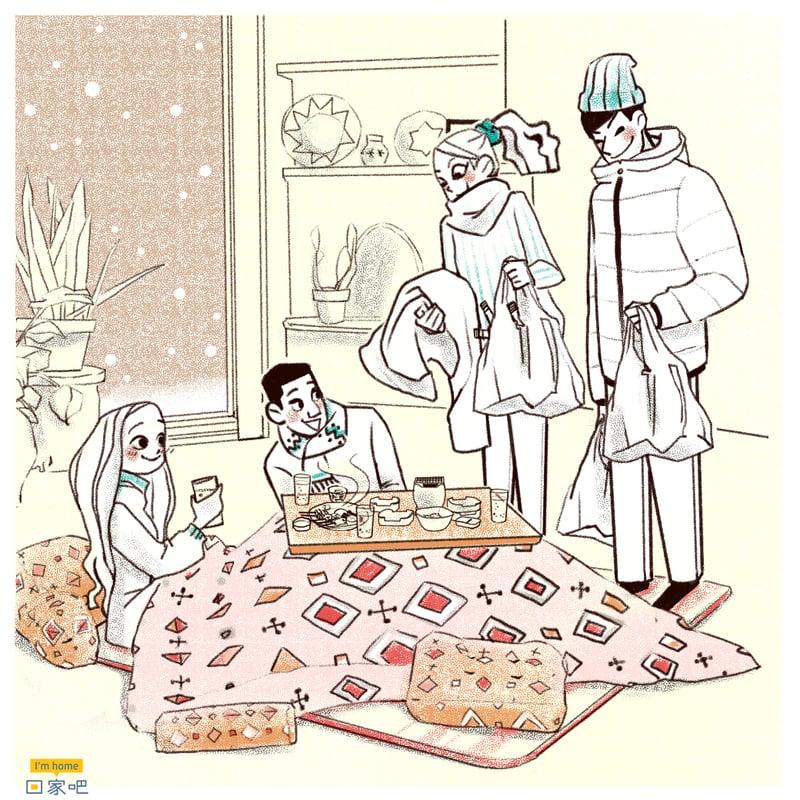 |暖桌,一起共享笑聲和食物