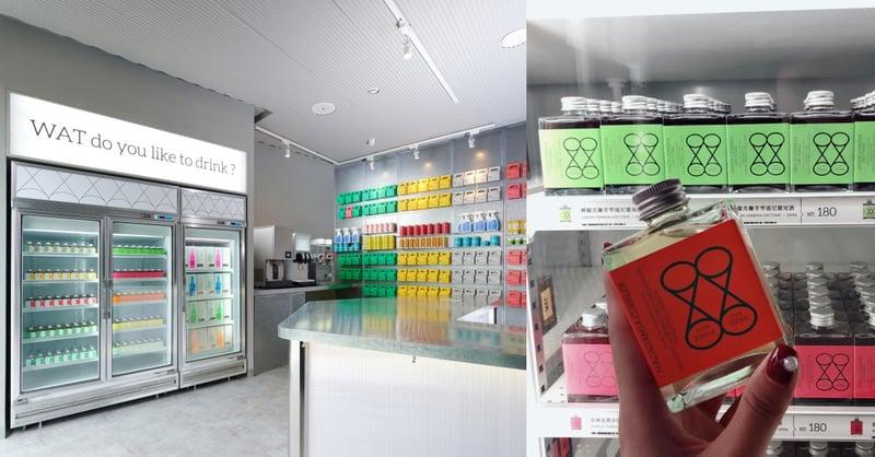 台北酒吧新地標!亞洲首間時髦「瓶裝雞尾酒」便利店《WAT》,配上台式辦桌菜超有味道-1