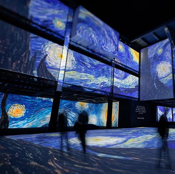 2020年最強展覽!《再見梵谷-光影體驗展》將登台,親自走進畫裡的魔幻世界-1