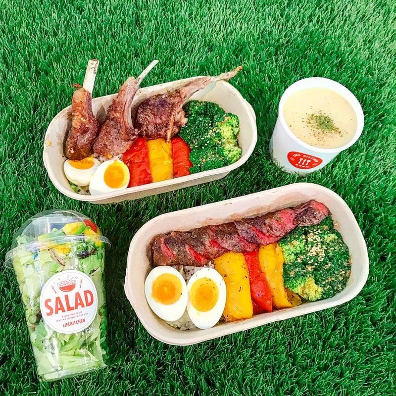 難道瘦身只能吃水煮餐?台北市6間質感系「低卡」外送餐盒,讓你減脂也能好好吃飯!-7