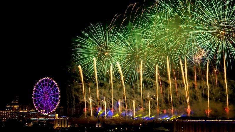 迎接2020全台跨年煙火總整理!義大最狂施放999秒,煙火是摩天輪兩倍大-4