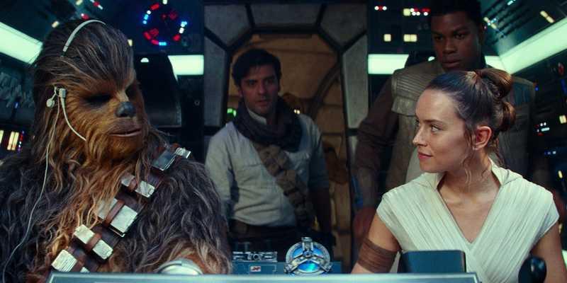 我愛我是我《星際大戰:天行者的崛起》劇照