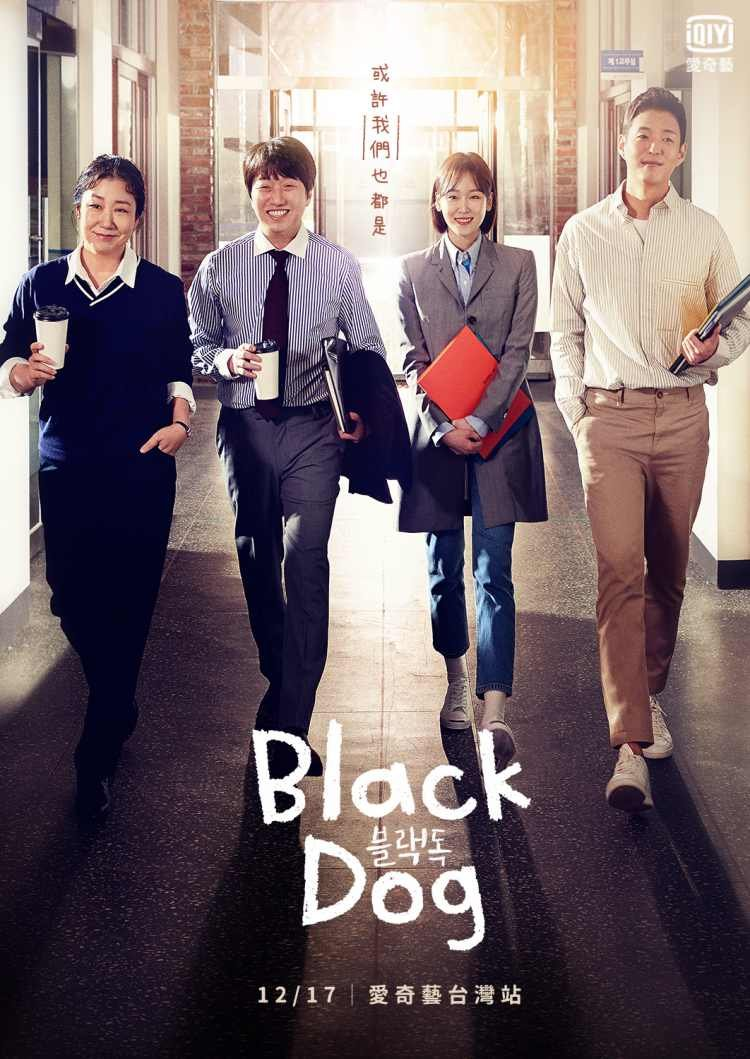 2019-2020年職場韓劇《Black dog》看了就無法轉台!徐玄振、羅美蘭主演校園版《未生》-0