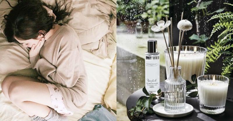 香氛蠟燭、水氧機、擴香精油用錯時間竟會影響睡眠?亂用香氛可能造成反效果!-4