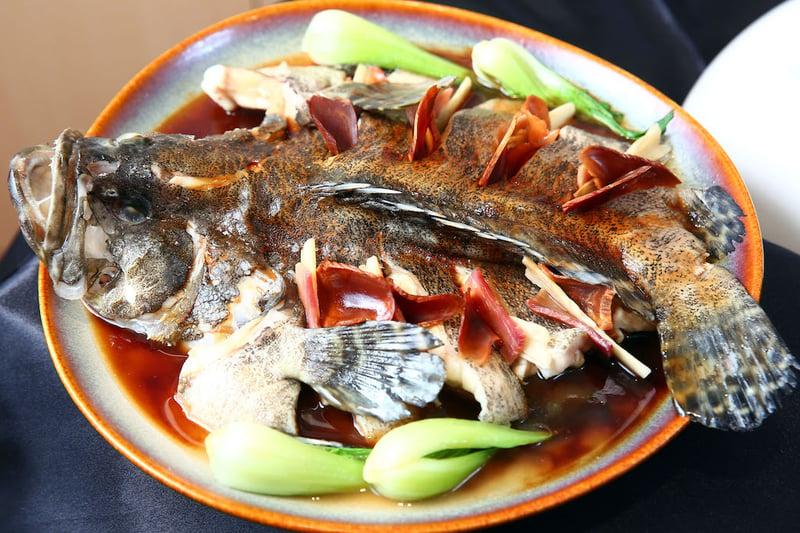 【新聞圖片】「高麗蔘麒麟石斑魚」可維持消化道機能、促進新陳代謝、改善胃腸功能。