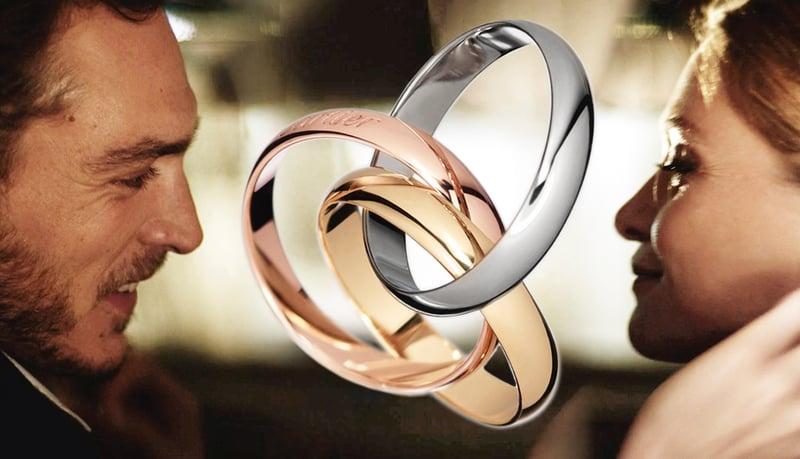 卡地亞的三環戒指