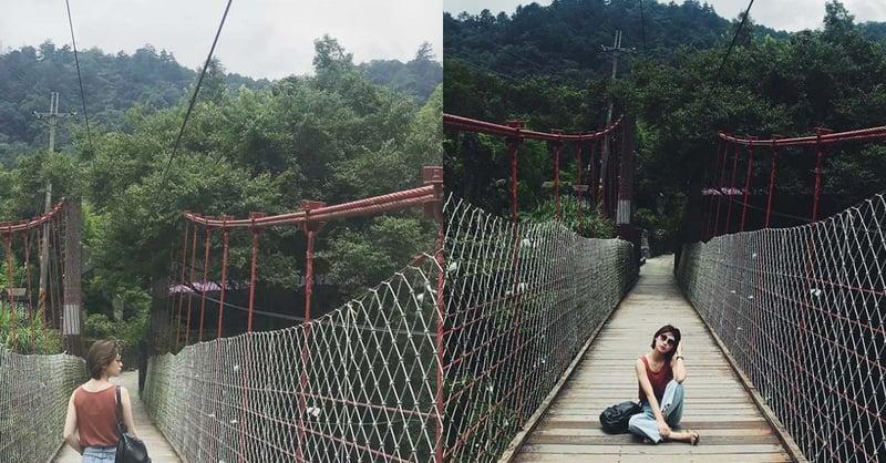 台中谷關放鬆景點推薦!除了溫泉還有這些秘境可踩點,夢幻山景、絕美瀑布超想去-2