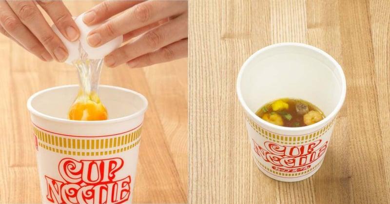 泡麵湯才是精華!日本防疫在家悶壞狂瘋「泡麵蒸蛋」,這款台灣泡麵做出來最美味!-1