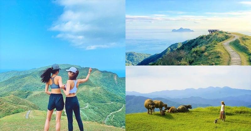 夏日避暑秘境!北台灣最美草原「桃源谷」,360度山景海景,美到讓你驚呼連連!-0