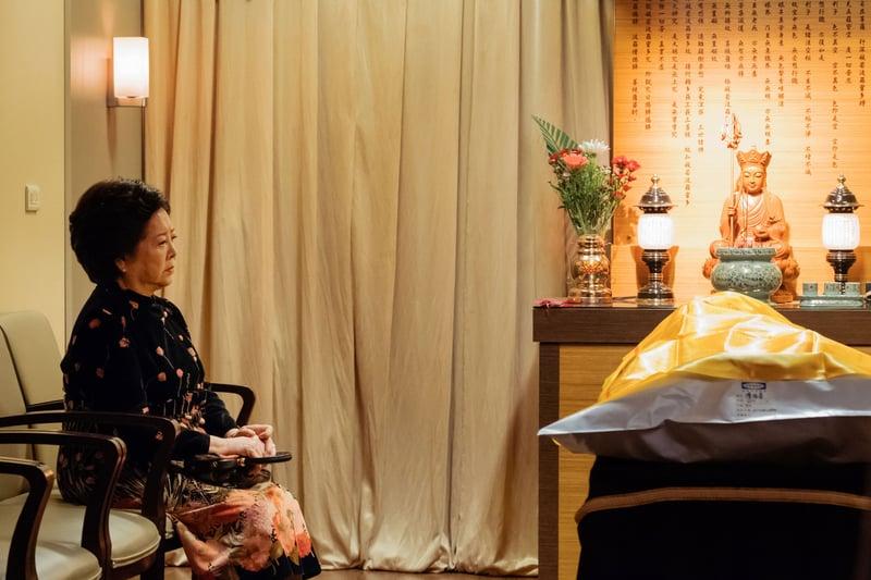 電影 孤味 獨自拉拔三個女兒長大的母親 陳淑芳