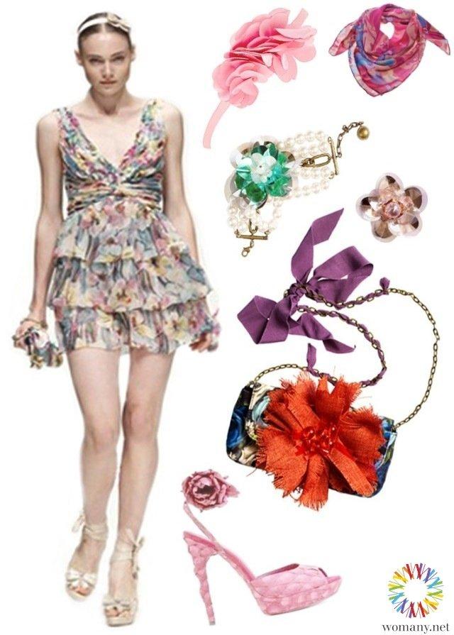 春天就是要花!花朵系洋裝穿搭示範