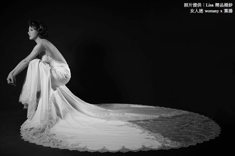 女人迷 womany x 葉揚 不一樣的婚紗:鏤空婚紗的華麗冒險