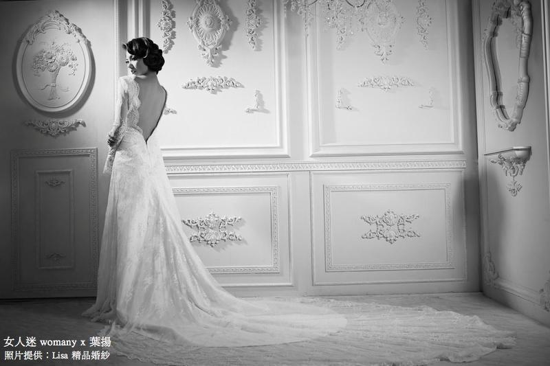 女人迷 womany x 葉揚 不一樣的婚紗:復古的新鮮感