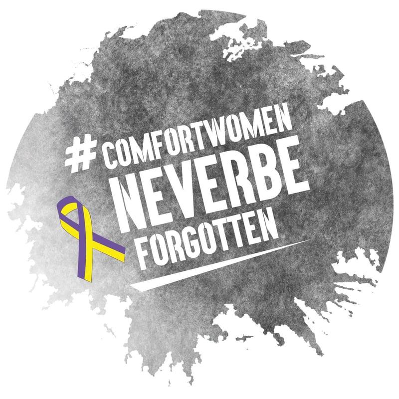 Comfortwomen never be forgotten