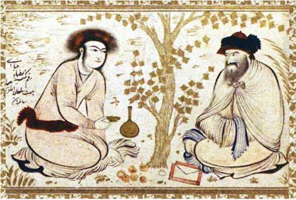 圖片說明:Abu Nuwas,阿拉伯第一名同志詩人