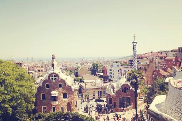 熱情美麗又迷人的城市女孩 西班牙巴塞隆納 Barcelona, Spain