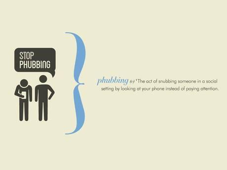 stop phubbing