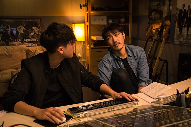 Lucas與他的錄音師夥伴