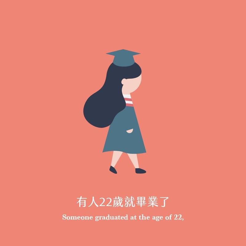 有人22歲就畢業了