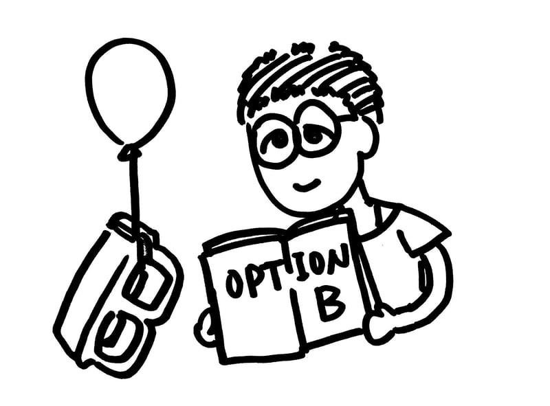 Option B:擁抱 B 選項