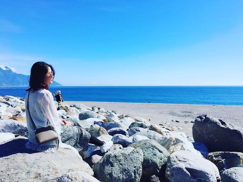 每個人心中都該有一片海,或一個棲身之所,當你疲累,你就可以好好休憩。