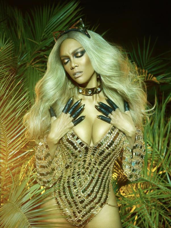 Tyra Banks開拍時尚紀錄片,探索美麗定義。(網上圖片)