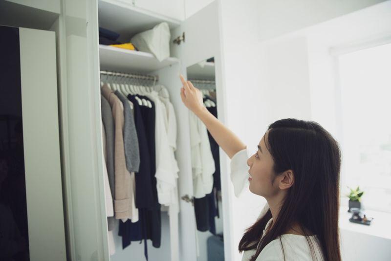 Sharon在2016年對斷捨離感到興趣,不但到日本學習斷捨離文化,更考獲日本收納認證資格,同時成立了 「Home Therapy」,成為雜物諮詢師。(龔嘉盛攝)