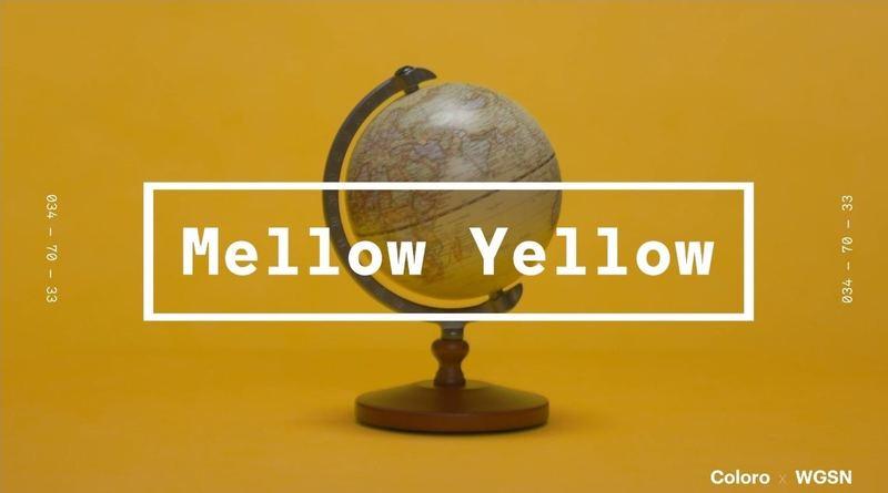 今年在街上曝光率增加的黃色也是2020年流行顔色之一,只不過會更復古、陳舊感。(WGSNxColoro)