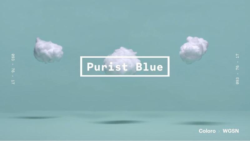 藍色調一直都是時尚界的長青顔色。(WGSNxColoro)